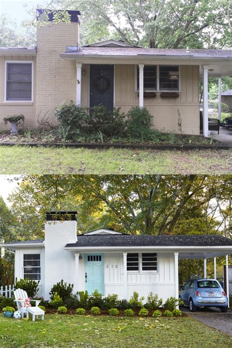 home curb appeal before and after before and after curb appeal photos front house