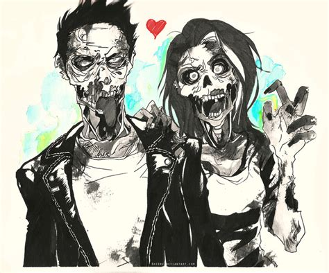 anime zombie romance zombie love by keijv on deviantart