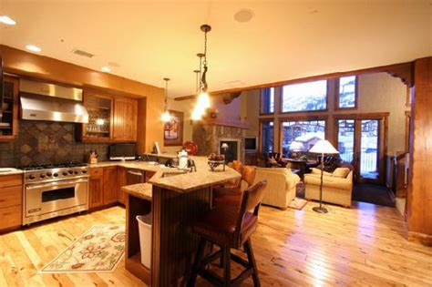 great room kitchen kitchen and great room picture of cimarron townhomes