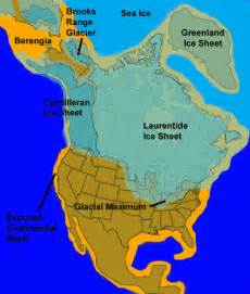 map of america 10000 years ago emergence of in america