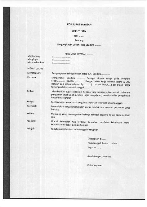 Format Surat Lamaran Cpns Kemristekdikti by Contoh Kontrak Kerja Karyawan Pdf Software Free