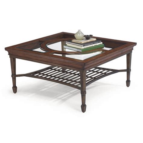 Flexsteel Coffee Table Flexsteel 6612 032 Hathaway Square Coffee Table Discount Furniture At Hickory Park Furniture