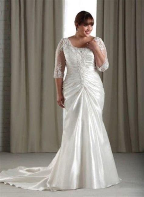 abiti sposa taglie forti carol strascico  cappella