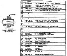 2001 7 3 pcm wiring diagram pcm pcm connector