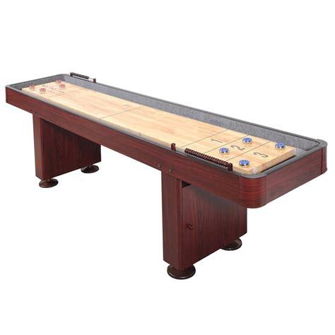 9 shuffleboard table 9 deluxe cherry shuffleboard table shuffleboard