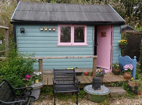 pretty shed pretty painted shed garden shed cool pinterest