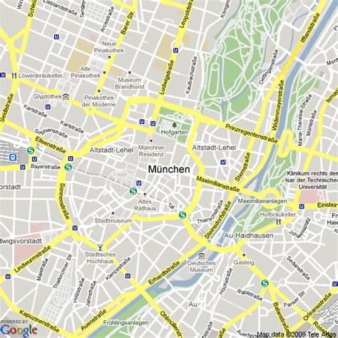 Lot Munchen 6 Kartu map of munich free printable maps