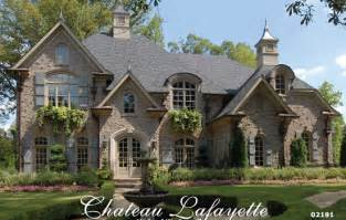 French Country Home Plans chateau lafayette french country house plan house