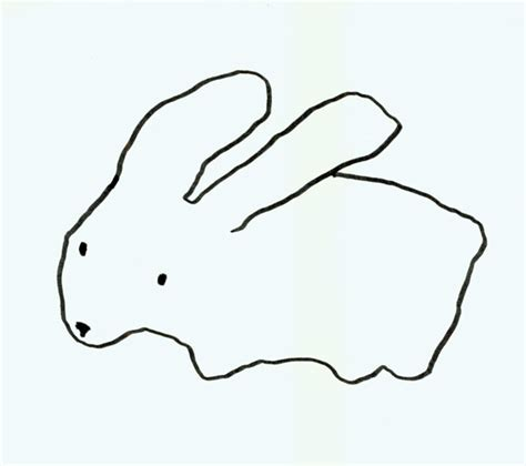 rabbit simple easy tombow rabbits carla sonheimcarla sonheim