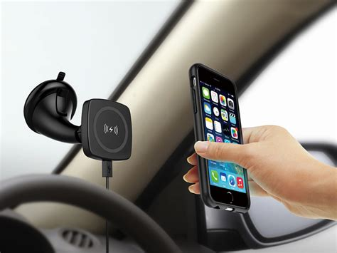 qi magnetic car charger magnetic qi wireless charger buy wireless charger