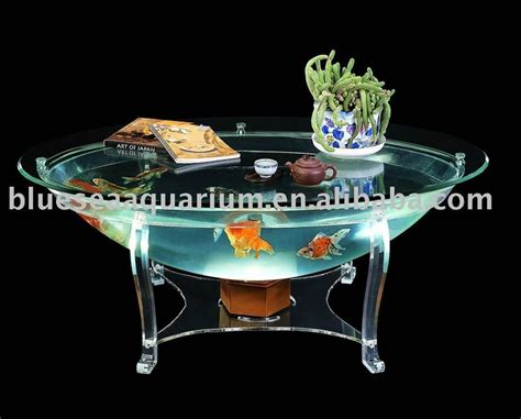 dining table fish tank dining table