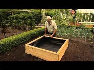 flower bed liner raised vegetable garden planter and plant bed liners youtube