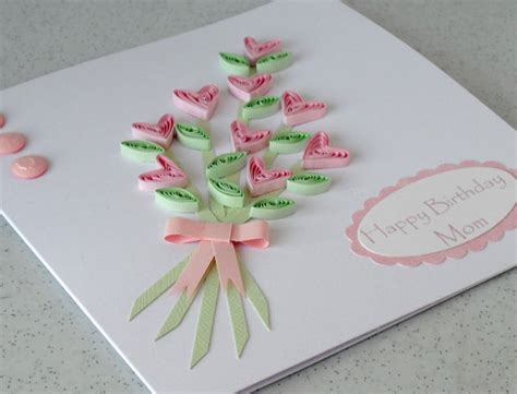 How To Make A Handmade Card - flowers for flower home made flowers greetings