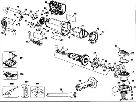 dewalt bench grinder parts image gallery dewalt parts