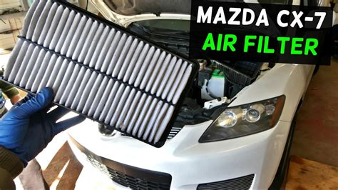small engine maintenance and repair 2007 mazda cx 9 electronic throttle control mazda cx 7 cx7 engine air filter replacement removal youtube