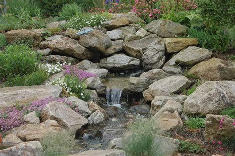 Garden Rock Features Water Feature Rock Garden Farm