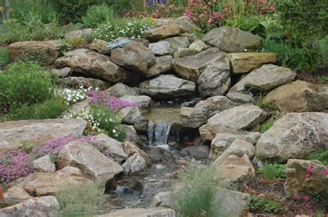 Water Feature Rock Garden Wild Ginger Farm Rock Garden Features