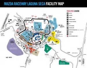 track map racing lines mazda raceway laguna seca