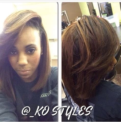 hair dye for relaxed hair beautiful the old and african cute cut and color relaxed hair hair pinterest