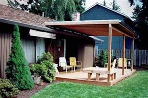 wood patio cover plans covered patio