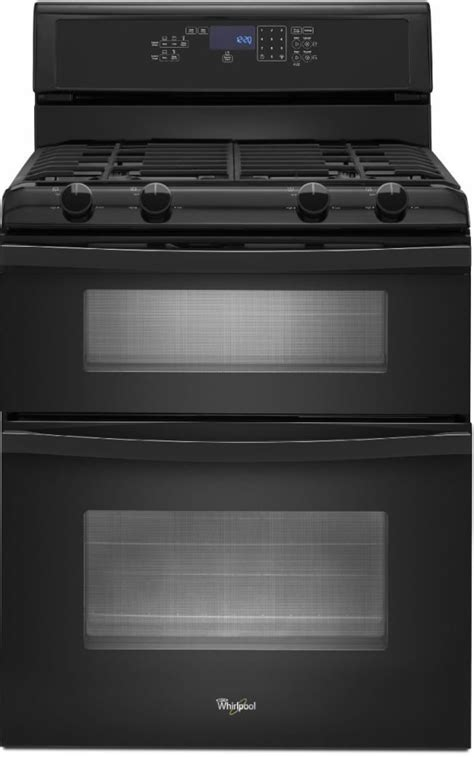 Whirlpool WGG555S0BB 30 Inch Freestanding Gas Double Oven