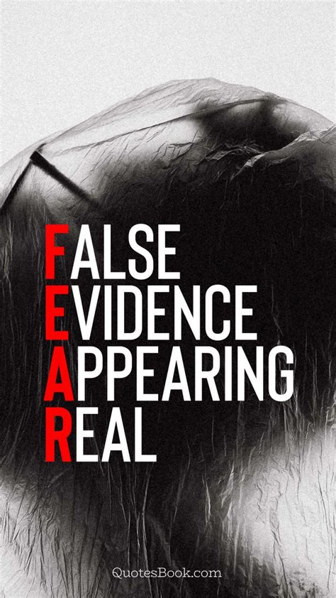 false evidence appearing real quotesbook