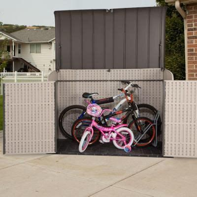 Costco Bike Shed by 25 Best Ideas About Plastic Sheds On