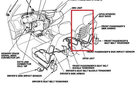 cadillac air bag sensor location cadillac get free image about wiring diagram