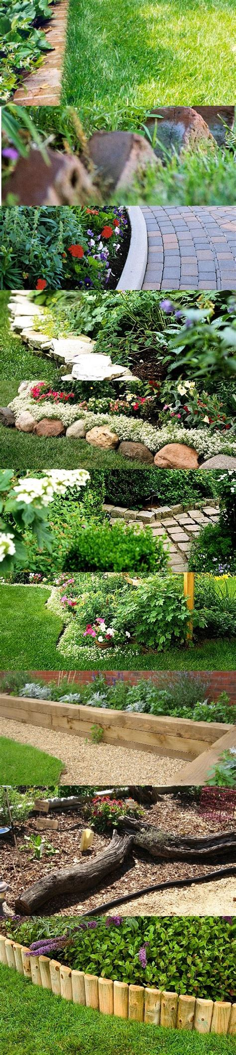 Garden Borders And Edging Ideas Garden Bed Borders Edging Ideas For Vegetable And Flower Gardens