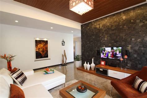 for living room indian low cost best ceiling photos of 仿古砖电视墙装修设计图 土巴兔装修效果图