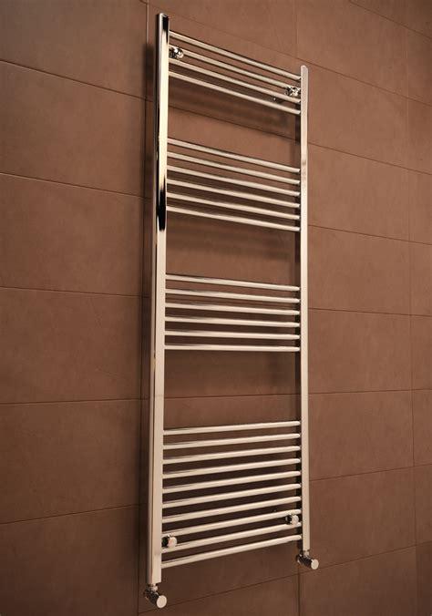 bathroom towel rads chrome straight heated bathroom towel rail rad radiator