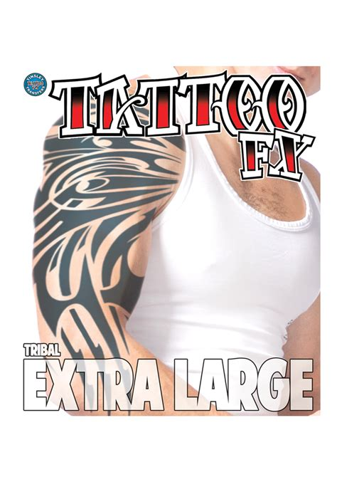 large temporary tattoos large tribal temporary