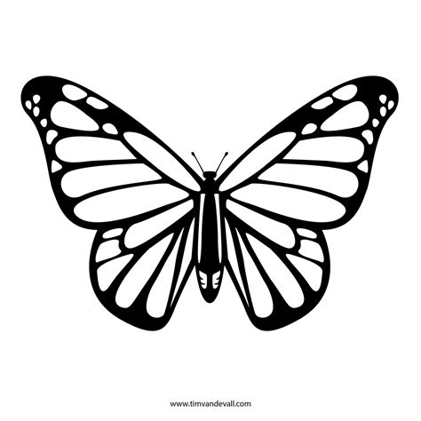 monarch butterfly template printable monarch butterfly template printable flogfolioweekly