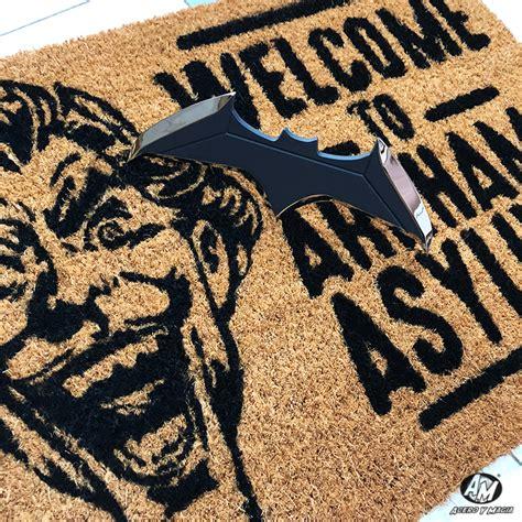 felpudo batman felpudo welcome to arkham asylum dc comics