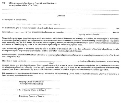 Uob Credit Letter letter of credit application form sludgeport919