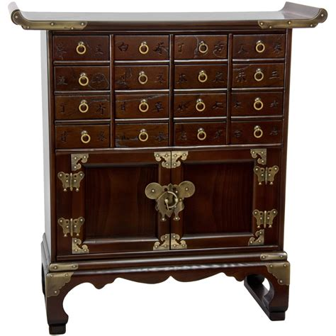 asian inspired furniture oriental furniture korean antique style 16 drawer medicine
