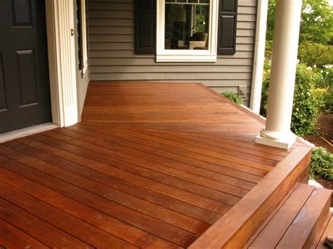 porch colors stained cedar deck color deck deck colors