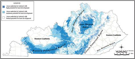 kentucky karst map esri news arcnews winter 2002 2003 issue karst gis