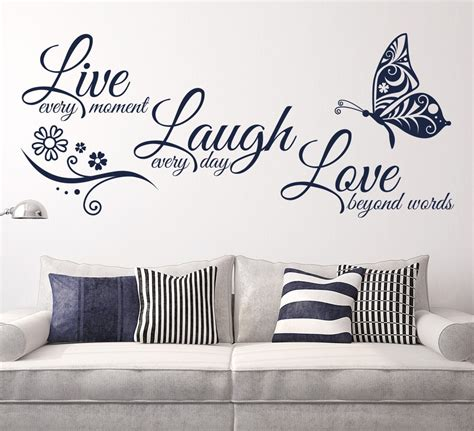 home decor wall decals wall quote stickers espanol kitchen laundry