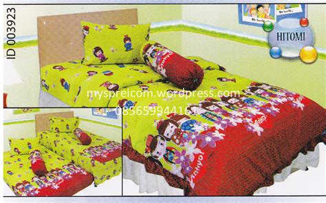 Sprei King Kintakun Barcelona Single Bedcover Bed Cover Murah Grosir Sprei