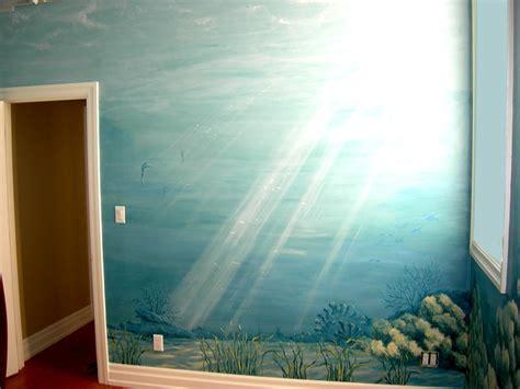 underwater wall mural underwater mural seahorse wall scaife