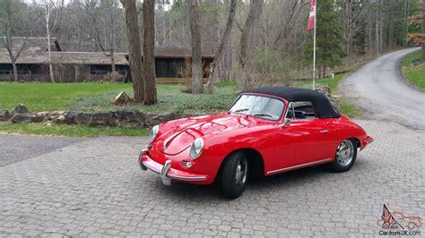 Porsche 356 Sc Cabrio by 1964 Porsche 356 Sc Cabriolet Ebay