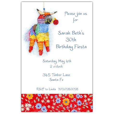 ferdinands fiesta invitations paperstyle