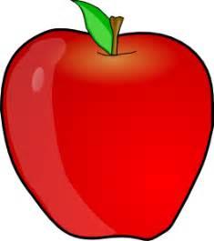 gambar buah apel clipart koleksi gambar hd