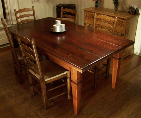 hardwood dining room table custom made barnwood table by cottage home custommade com