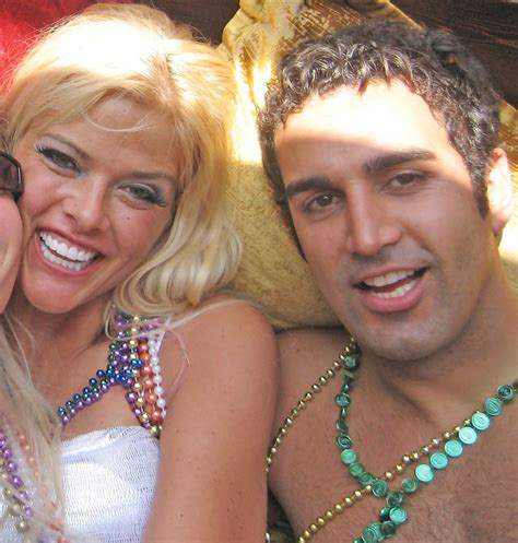 anna nicole smith party sandeep kapoor in anna nicole smith at her after party