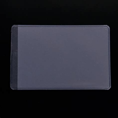 clear vinyl protector 10pcs soft clear plastic card sleeves protectors for id