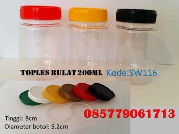 beli toples kaca grosir botol kaca tempat sambal botol