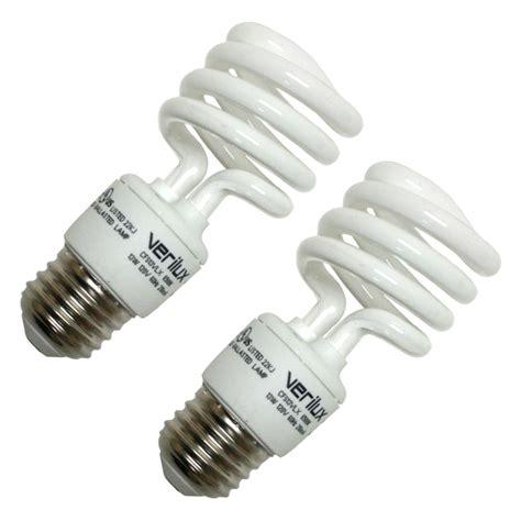 spectrum fluorescent light bulbs verilux 05111 cfs13vlx compact fluorescent daylight