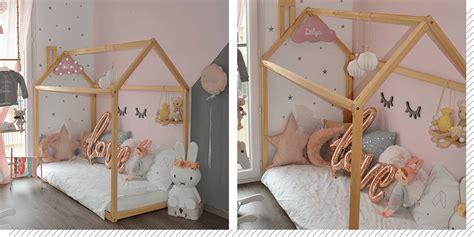 chambre cabane fille chambre enfant le lit cabane d 233 coration cr 233 ative
